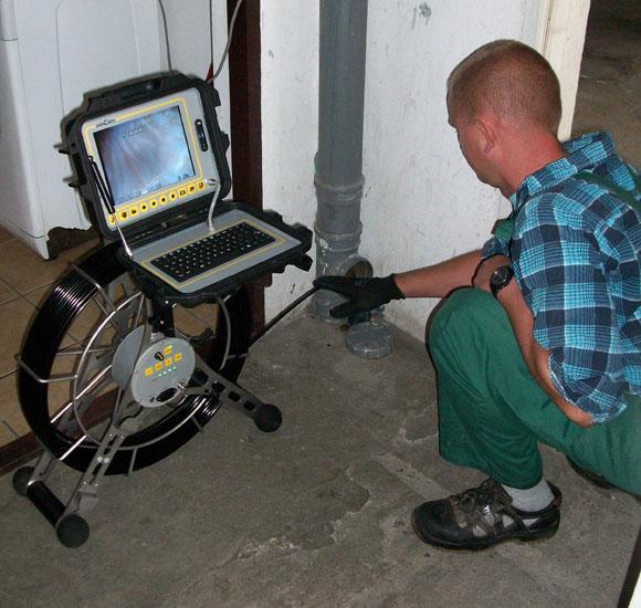 sprzęt do monitoringu kanalizacji